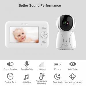China Sumond video audio wifi baby monitor lcd baby camera monitor wireless 4.3 inch baby monitor on sale