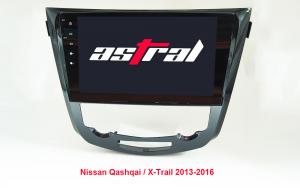China 10.1 Inch Car Multimedia Navigation System Nissan X Trail Qashqai 2 Din Android on sale