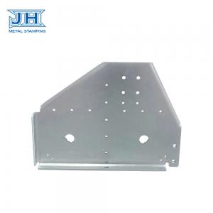 China Wall Mount Bracket Heavy Duty Customized Zinc Plating Stamping on sale