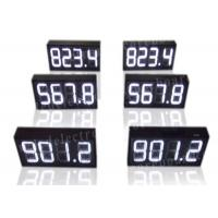 White Color LED Gas Price Sign With IR Remote High Brightness 300*630*100mm