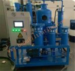 TY Turbine Oil Filtration Plant,PLC turbine oil purifier,Vacuum Lubricant Oil Regeneration Machine,Blue color