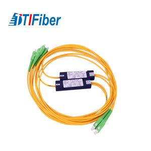 China ABS Box Type PLC Splitter 1x4/1x8/1x16/1x32 FTTH Fiber Optic Splitter on sale