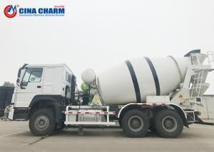 China Mini Self Mixing Concrete Truck , SINOTRUCK 12CBM Ready Mix Concrete Truck on sale