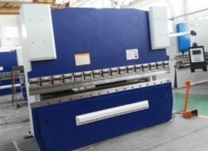 Quality 3.2M Long CNC Mechanical Press Brake Machine 125T Bending Capacity SS Processing for sale