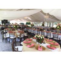 Hot Dip Galvanized Steel Connector 15x20M Party Event Tents For 250 People