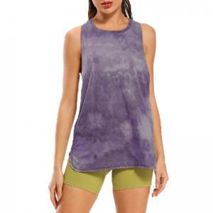 China Sweat Wicking Cotton Womens Sleeveless Tank Tops S M L XL on sale