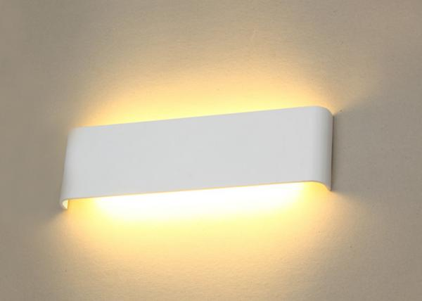 12w Ip20 Wall Mounted Lights For Living Room High Light Efficiency