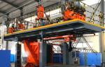 HUASU 10000L HDPE Blow Molding Machine Automatic HDPE Bottle Making Machine