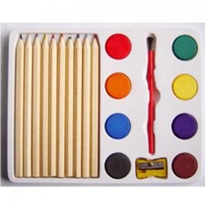 China Natural color pencils with painters set on sale
