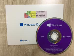 China German Windows 10 Professional 64 Bit DVD , Windows 10 Key Code Valid For Lifetime on sale