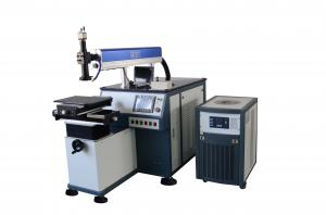 China 200W 300W Laser Spot Welding Machine Automatic With Microscope Observation System on sale
