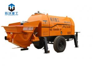 Small Electric / Stationary Concrete Pump 40m^3 Delivery Output For