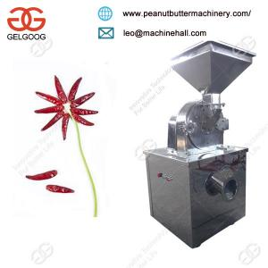 China Stainless Steel Commercial Dry Red Chilli Powder Grinding Machine Manufacturer on sale