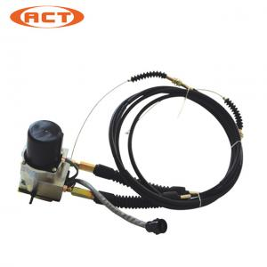 China Single Line Throttle Motor Excavator Replacement Parts Caterpillar Electronic Throttle Body Assembly on sale