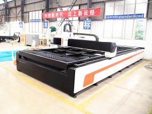 China 1530 fiber laser CNC cutting machine with 500w 750w 1kw 2kw Metal steel plate cutting machine on sale