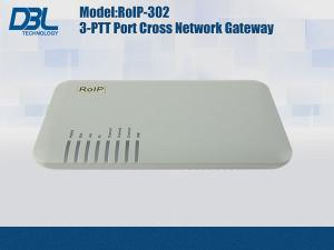 China 3 Channel Radio Over IP Gateway Cross-Network , Radio Repeater Gateway on sale