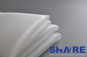 China Plain Weave Polyester Filter Mesh Width 100-360CM With Monofilament Yarns on sale