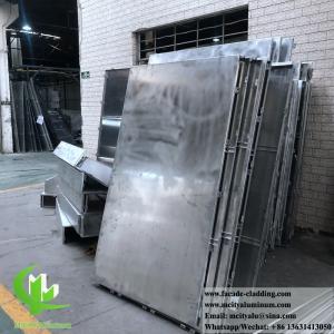 China External Powder Coated Metal panel Aluminium Facade Customized metal cladding supplier on sale