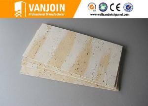 China Weather Resistant Lightweight Precast Concrete Panels With Flexible Clay , Self - Cleaning on sale