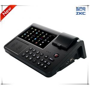 China 7 inch touch screen Android POS Device With Receipt Printer NFC or RFID Reader 3G Wifi Ethernet on sale
