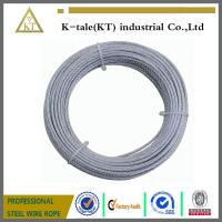 High quality 1x19 steel wire ropes/steel wire cable/steel strand