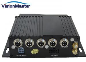 China Economic 4 Channel Vehicle Dvr , 720P Wifi CCTV Mobile Dvr With GPS Tracking on sale
