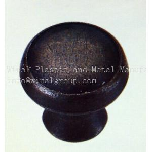 China Size Dia18xH18,plated black,kitchen drawer pull knob,Zinc alloy,plating & color can OEM. on sale