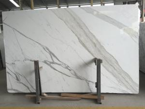 China 24x48 Natural Stone Slabs Calacatta Countertop Kitchen Bench Top Vanity Tops on sale
