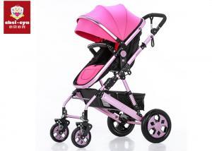China Reversible Sleep Basket Toddler Baby Stroller High Landscape 5 Points Safe Belt on sale