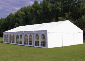 China 15x30m Outdoor Event Tents Wooden Floor Air Conditioner For 600 People on sale
