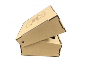 Natural Brown Decorative Cardboard Gift Boxes Ce Certification Eco
