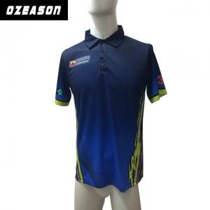 b9efef0c ... Quality Custom Your Own Logo Full Sublimation 100% Polyester Polo Shirt  for sale