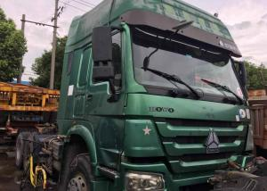 China Professional Prime Mover Truck / HOWO Tractor Truck With Left Hand Drive on sale