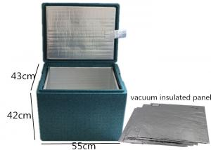 China Vacuum Insulation Panel Leak Proof 15mm Medical Cool Box EPP Material on sale