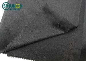 China Circular Knitting Lightweight Fusible Interfacing For Sports Jeans Wear on sale