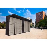 24 Doors Electronic Intelligent Logistic Parcel Locker , Package Lockers