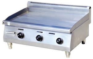 China Counter Top 380V Commercial Electric Griddle 900X660X480mm For Catering Industry on sale