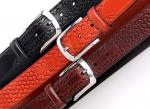 "Men's 1.3"" Wide Genuine Leather Casual Belt with Three-demensional Braiding Patterns"