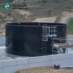 Glass - Fused - To - Steel Commercial Water Tanks With 20m3 - 20000m3 Capacity Flexible