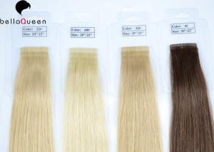 China Long Virgin Unprocessed 100% Human Hair Straight Tape Hair Extension on sale