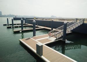 China Sea Aluminum Boat Ship Gangway Customized Size 500mm Freeboard on sale