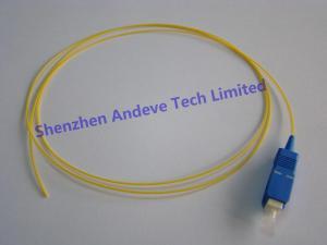 China Fiber Optic Pigtail/ Optic Fiber Pigtail (SC Singlemode) on sale