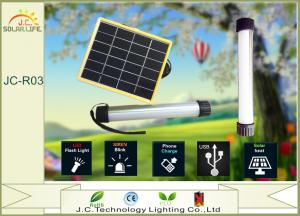 China 6V 500mA Poly - Sillicon LED Solar Torch Light Solar Flashlight For Camping on sale