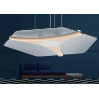 PMMA Material 59W Wireless Living Room Ceiling Light 6000LM Adjustable With Remote Control