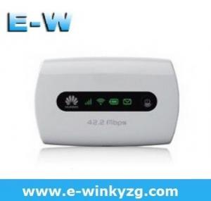 China 42mbps unlocked Huawei E5251 3G Mobile pocket WiFi Router support DC-HSPA+/HSPA+/UMTS/HSUPA 3G boradband wifi router on sale