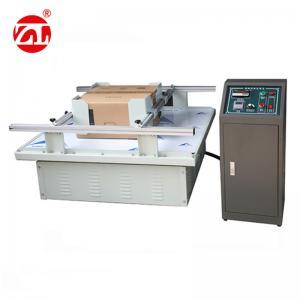 China 220V 50hz Vibration Testing Equipment For Carton Simulation Transportation on sale
