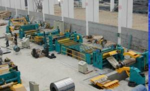 China Cold Rolled Steel / Galvanized / Color Coated / Stainless Steel Coil Cutting Machine on sale