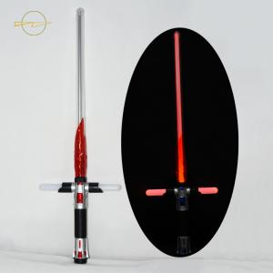 China PVC  Flashing Sword Toy Cool Red Flame Near Handle Slippy Flim In Long Tube on sale