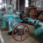 River Dam Turgo Turbine Generator 800KW to 1600KW Turbine Wheel With Long Service Life