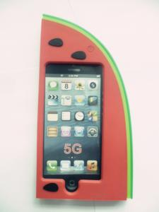 China Samsung Silicone Watermelon Smart Phone Case / Cellular Phone Covers on sale